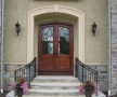 Custom Exterior Hand Railings
