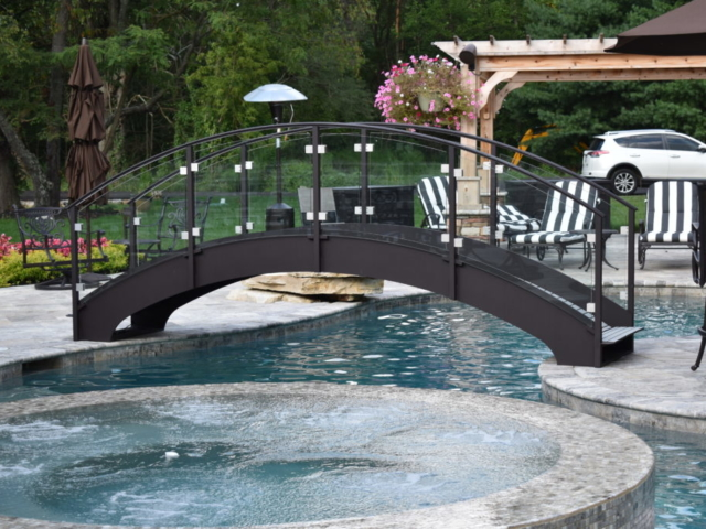 We specialize in making custom pool bridges too!